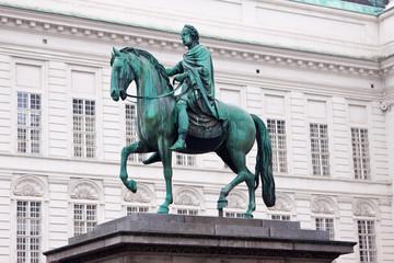 Statue of Josef, Vienna, Austria.
