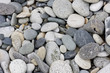 stone beach , made with lots of pebbles