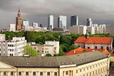 City of Warsaw Skyline