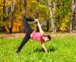 Yoga Ardha Chandra chapasana pose
