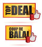 panneau promo : Coup de balai, top deal