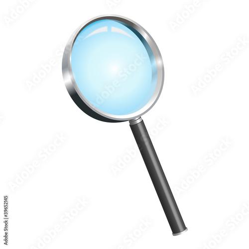 Vergrößerungsglas - Lupe