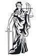 Justizia Skulptur