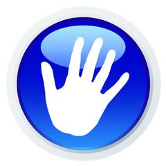 Ícone com uma mão