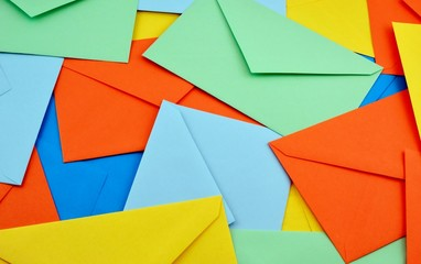 Buste da lettera colorate per anniversari e nozze