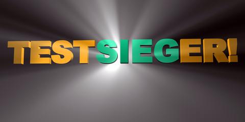 3D Gelbe Strahlen - TESTSIEGER