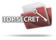 "3D Style Folder Icon ""Top Secret"""