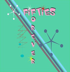 fifties forever background