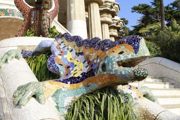 Parc Guell Mosaic Lizard