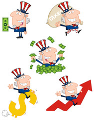 Uncle Sam Cartoon style