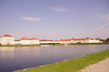 The Nymphenburg palace in Munich in Germany