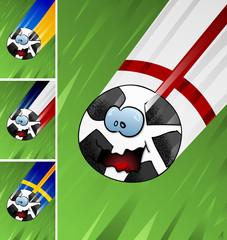 Fußball fliegt Gruppe_D