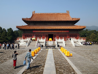 Yuling of Eastern Qing Tombs in China - A UNESCO World Heritage