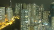 Time Lapse Hong Kong at Night.