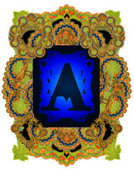 Letter A.
