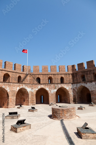 K?z?l Kule (Red Tower) in Alanya.