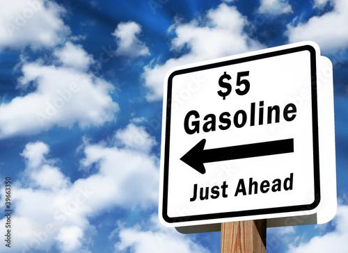 $5 gasoline coming