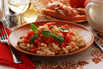 Shrimp salad Ensalada de camarones 虾沙拉