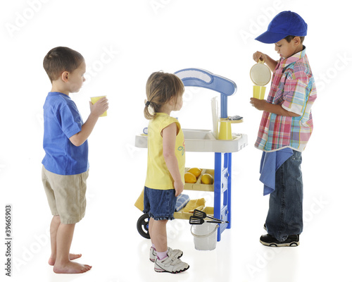 Kiddie Lemonade Stand