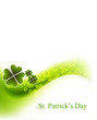 new vector background for St. Patrick's Days