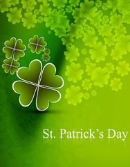stylish green saint patrick's day