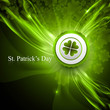 saint patrick's day shiny green colorful