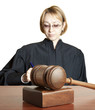 Gavel & female judge