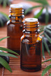 Постер, плакат: Aromatherapy essential oil bottles