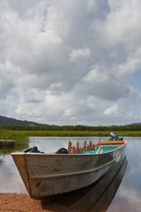 Amazon style boat