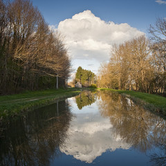 Canal du Berry in France