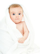 baby in a towel