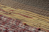 Weaving on small loom