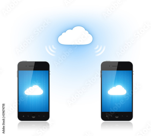 Communication On Mobile Phone Via Cloud Computing