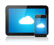 Cloud Computing Connection On Modern Devices
