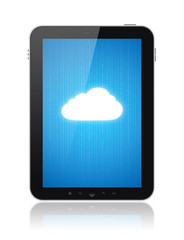 Cloud Computing On Digital Tablet PC