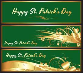 Patrick's Day Shamrock Banner