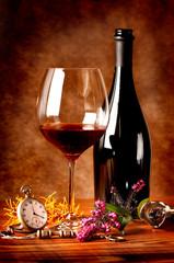 Vino rosso in calice