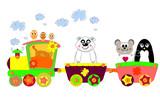 Locomotive illustration - 39683722