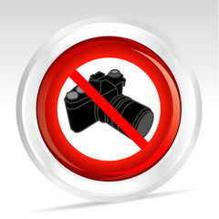 appareil photo interdit