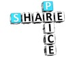 3D Share Price Sale Crossword text