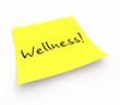 Notizzettel - Wellness!