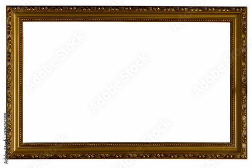 Picture Frame Isolated