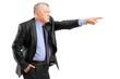 An angry boss firing an employee