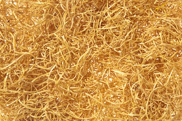 Straw background