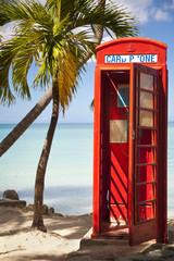 Red Phone Box in Antigua