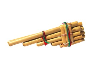 Pan flute, flauta de pan o siku.