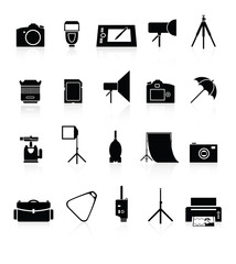 Photo collection of icons.