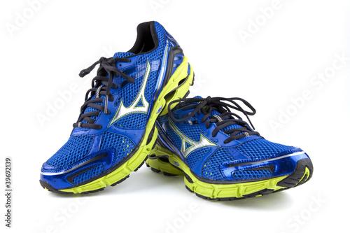Leinwandbild Motiv Joggingschuhe Laufschuhe Sportschuhe Schuhe