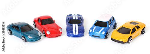 bunte Modellautos