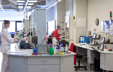 Лаборатория качества на пивзаводе